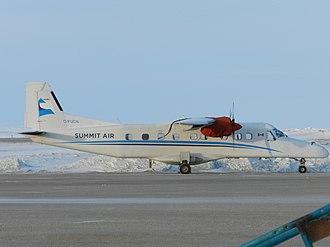 Summit Air - Summit Air Dornier Do 228 at Cambridge Bay Airport