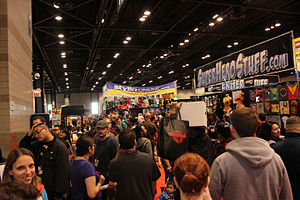 Chicago Comic & Entertainment Expo - Image: C2E2 2013 crowd (8689896975)