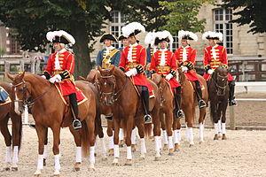 Maison militaire du roi de France - Gendarmes de la Garde (Historical reenactment)
