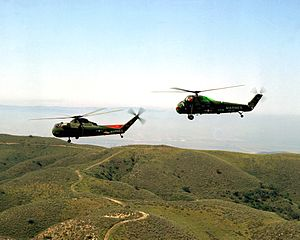 Sikorsky H-34 - CH-37C and UH-34D of the United States Marine Corps.