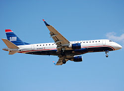 Eine Embraer 170 der Republic Airline