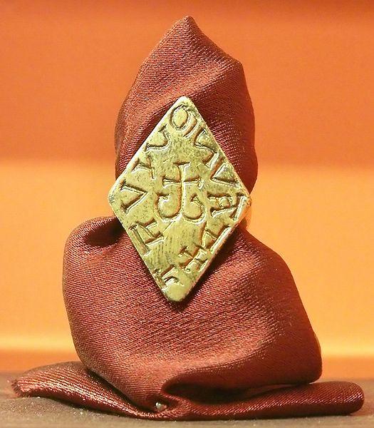 Pierścień księcia Świętopełka II Wielkiego - ojca prawdopodobnego założyciela Tucholi - Mściowja II