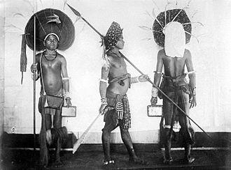 Tanimbar Islands - Tanimbar warriors.