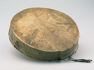 Tar (drum) - Image: COLLECTIE TROPENMUSEUM Lijsttrom T Mnr 3827 29