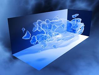 Despre materia intunecata (materia neagra) 316px-COSMOS_3D_dark_matter_map