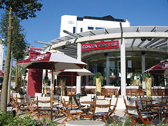Costa Coffee - A standard Costa Coffee branch in Cyprus