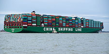 CSCL Globe arriving at Felixstowe, United Kingdom.jpg