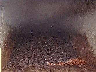 In-vessel composting - Image: CVRD3week 2.bay