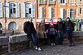 Cabale toulousaine - 2013-12-14 - Photo de groupe à côté de la Cathédrale Saint-Etienne.jpg