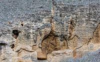 Caballero de Madara, reserva histórico-arqueológica Nacional de Madara, Bulgaria, 2016-05-27, DD 39.jpg