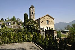 Cademario - Parish church of Sant'Ambrogio in Cademario