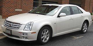 Cadillac STS American full-size sedan