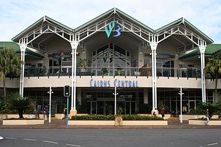 Cairns Central Australian shopping center