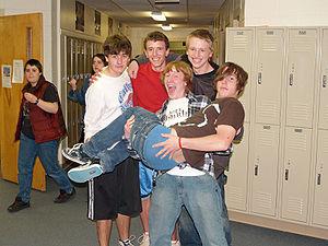 Calhan, Colorado high school senior boys.