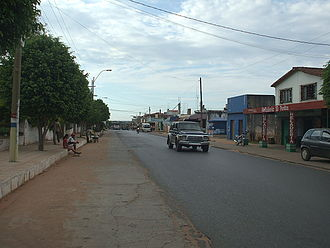 Limpio - A central street of the city
