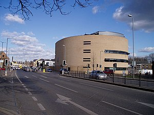 East Road, Cambridge - Cambridge Crown Court on East Road.