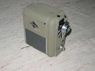 Eumig - A EUMIG 8mm movie camera from about 1955