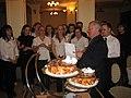 Cameratei Academica Porolissensis – 40 de ani de activitate, aniversare (19 mai 2011), dirijorul Ioan Chezan în centrul imaginii (profil).jpg