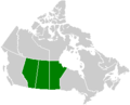 Canada Prairie provinces map.png