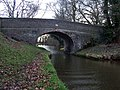 Canal bridge at Wrenbury Heath - geograph.org.uk - 126280.jpg