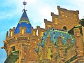 Canet de Mar, teulades de la Casa Roura, de Domènech i Montaner - panoramio.jpg