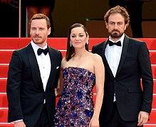 Michael Fassbender, Marion Cotillard e Justin Kurzel al Festival di Cannes 2015