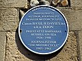 Canon Basil H Davies Plaque, Bexhill-on-Sea.jpg