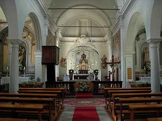 Carabbia - Image: Carabbia Kirche Innen