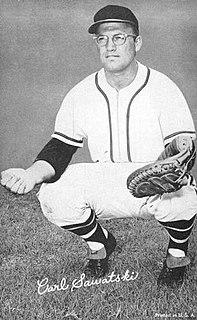 Carl Sawatski American baseball player
