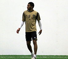 Carlos Valdés at Preseason Training for the Philadelphia Union, Jan 2011.jpg