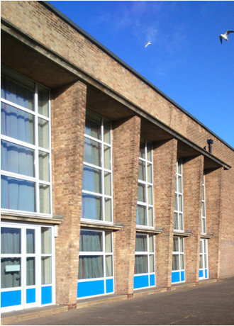 Carlton le Willows Academy - The hall on the West Site played host to most theatrical events during the 20th century