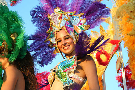 "Celebrating the annual ""Alegria por la vida"" Carnaval in 2007. CarnavalNica.jpg"