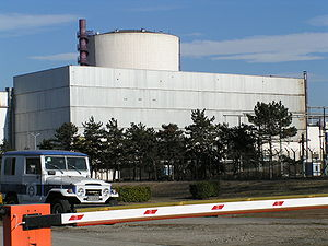 Caorso Nuclear Power Plant - Outside view of the plant, 2005