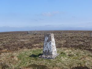 Carter Bar - Image: Carter Bar trig geograph.org.uk 800979