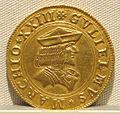 Casale monferrato, guglielmo II paleologo marchese, oro, 1494-1518, 01.JPG