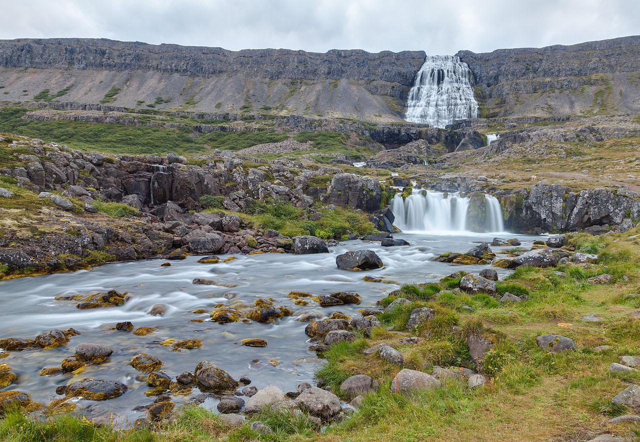 Filcascada Dynjandi, Vestfirðir, Islandia, 20140814, Dd