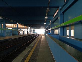 Cascina Antonietta (Milan Metro) - Image: Cascina Antonietta staz binari