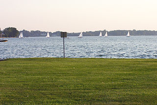Cass Lake (Michigan) lake in Oakland County, Michigan, USA