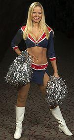 Cassie McLaughlin, cheerleader des Pats, National Football League
