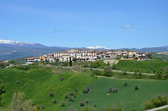 Castel Castagna - Image: Castel Castagna, TE