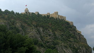 Boyabat Castle - The Castle of Boyabat on top of a hill
