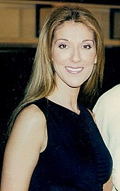 b23d52c2c49f Celine Dion during the promotion of Let s Talk About Love