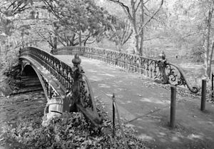 Central Park - One of 36 bridges in the park