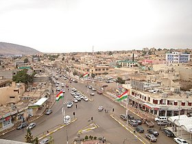Centre de Dahuk, intersection Ehmedê-Xanê