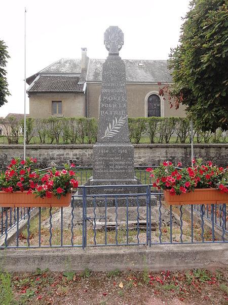 Châtillon-sous-les-Côtes (Meuse) monument aux morts