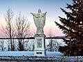 Chambly statue du Sacré-Cœur de Jésus.jpg