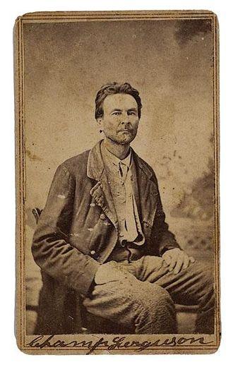 Champ Ferguson - Champ Ferguson in 1865