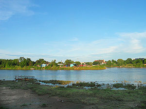 Chao Phraya River - Origin of the Chao Phraya River in Nakhon Sawan