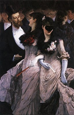 Charles Hermans - At the masquerade