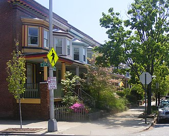 Abell, Baltimore - Corner of Abell Ave. and 33rd St.